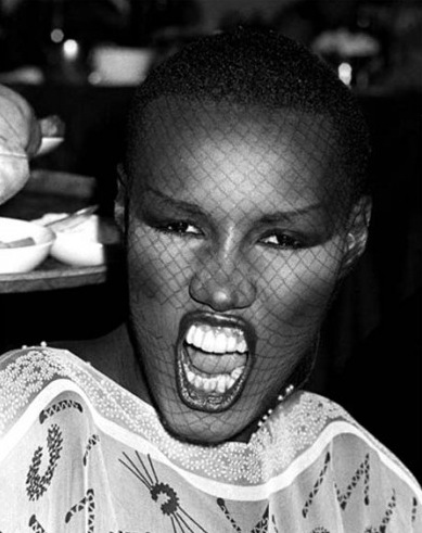 Grace Jones photo Ron Galella