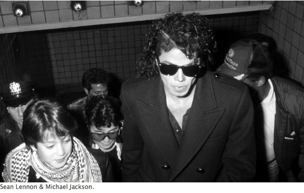 Sean Lennon Mickael Jackson photo Ron Galella