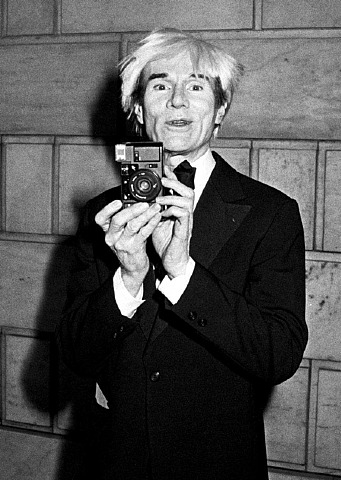 Andy Warhol photo Ron Galella