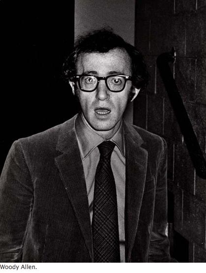 Woody Allen photo Ron Galella