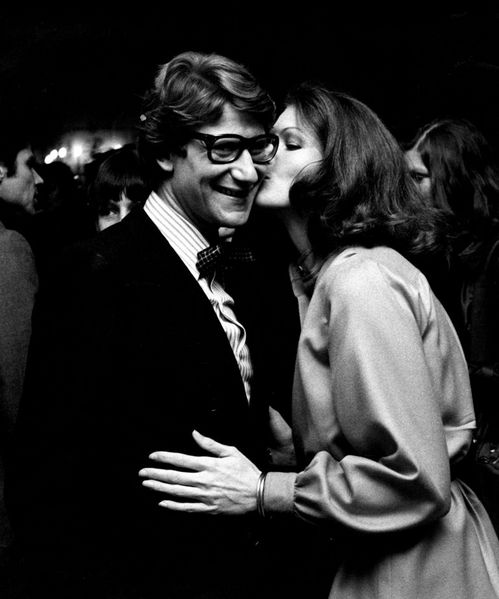 Yves St Laurent photo Ron Galella