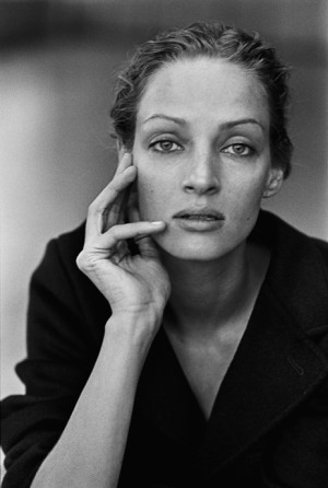 Uma Thurman photo Peter Lindbergh