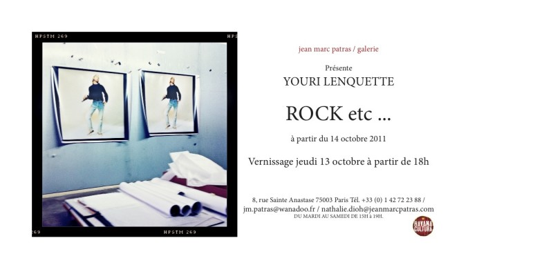 Carton ROCK etc Youri Lenquette photographe