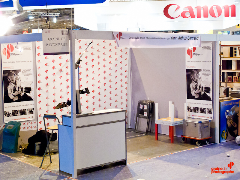 Salon de la Photo 2011 pour Graine de Photographe