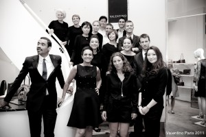 Team Valentino Paris 2011