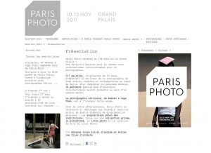 Paris Photo site web