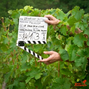 Tournage Le Sang de la vigne photo Christophe Rabinovici graine de photographe