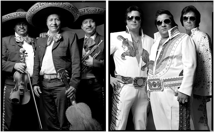 Photo : Mark Laita - Mariachis/Elvis Impesonators, 2002/2000
