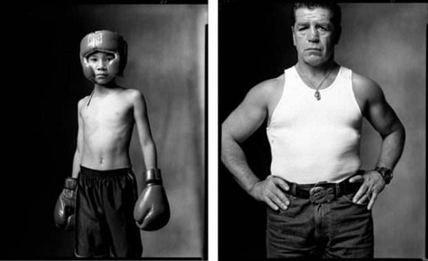 Photo : Mark Laita - Young Boxer/Retired Boxer, 2002/2002