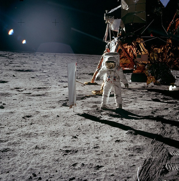 Apollo 11 - 16-24 juillet 1969, Edwin Buzz Aldrin - Photo : NASA