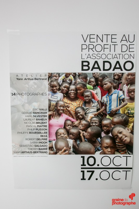 Vente au profit de l'association BADAO