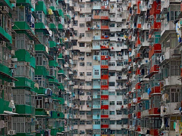 Architecture of Density - © Michael Wolf