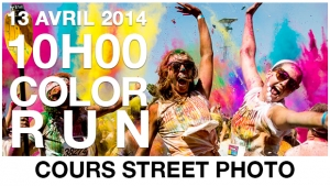 Cours de street photography Color Run