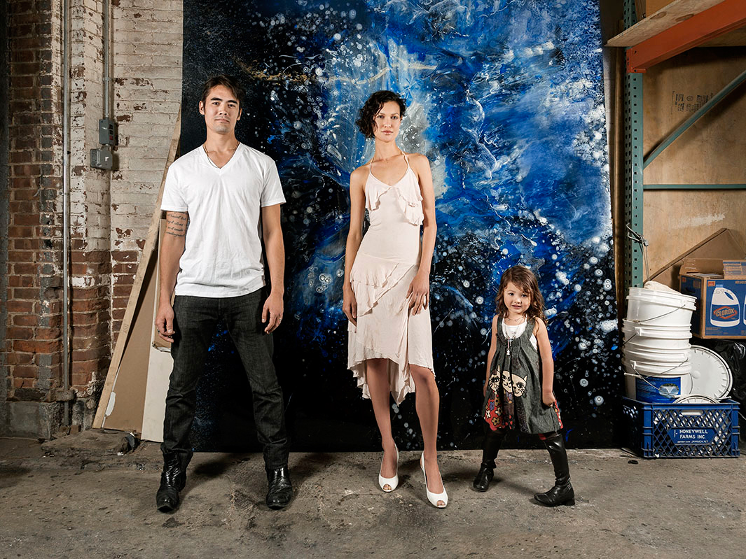 Famille James, 2010 - New York - Cyjo
