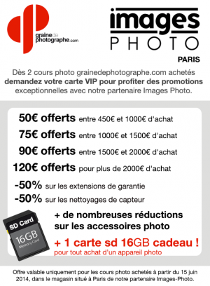 Promo grainedephotographe.com et Images-Photo Paris