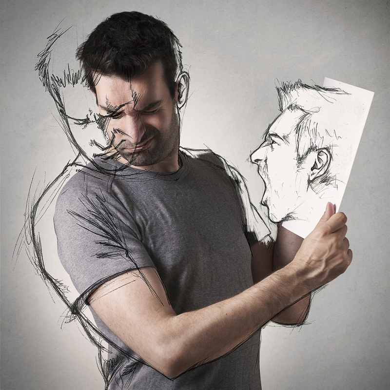 Photo: Sebastien Del Grosso - L'esquisse d'une vie - Angry Sketch