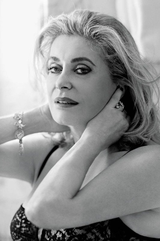 Photo: Catherine Deneuve, 2014. Dominique Issermann/New York Magazine