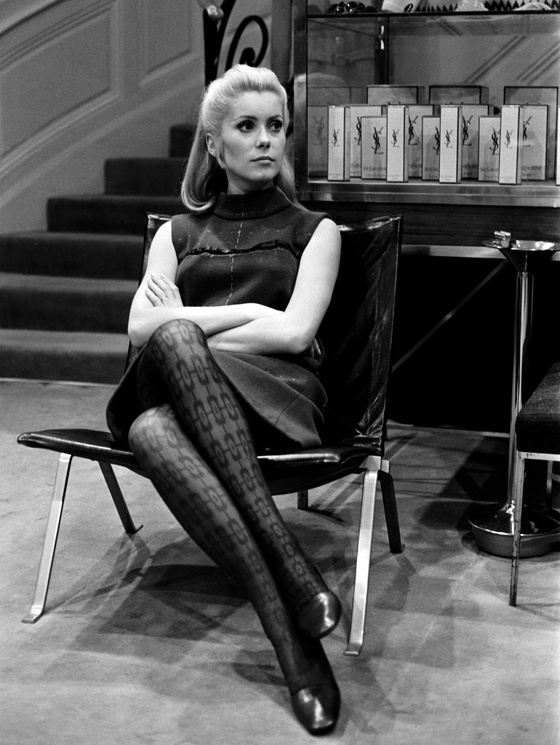 Photo: Catherine Deneuve, 1966. Botti / Stills / Gamma-Keystone via Getty Images ©