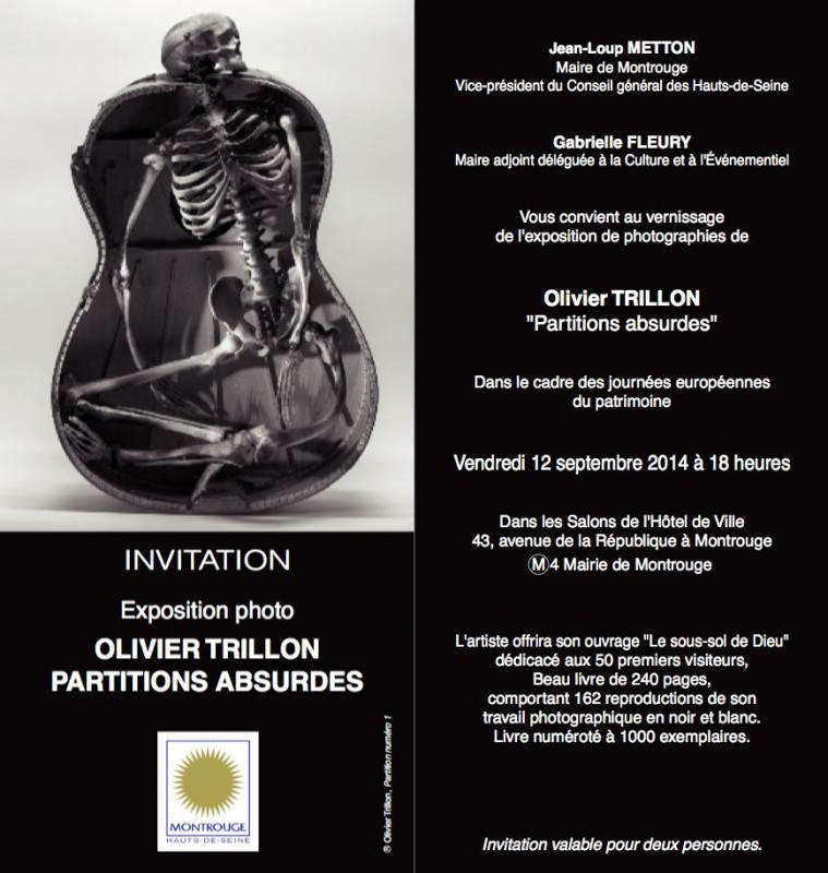Exposition Partitions absurdes - Olivier Trillon