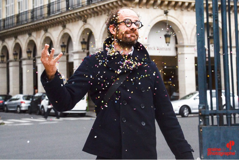 Photo: Clément Darrasse - confettis