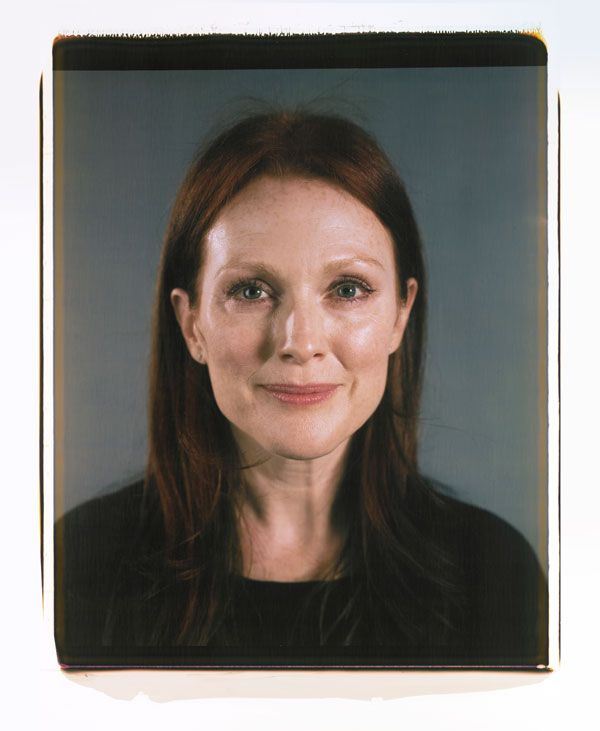 Julianne Moore Photo : Chuck Close