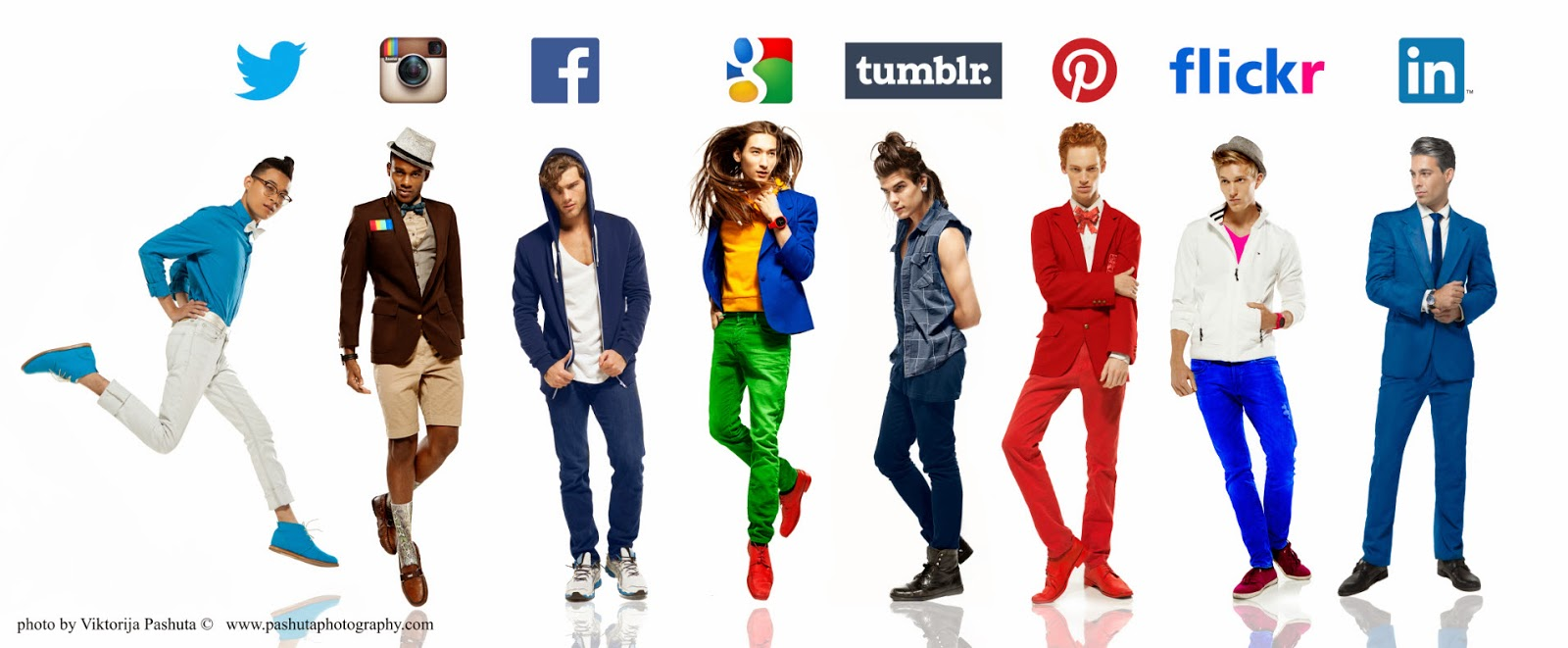 What if guys were social networks? Photo : Viktorija Pashuta