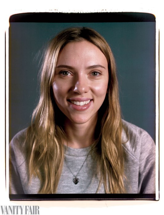 Scarlett Johansson Photo : Chuck Close