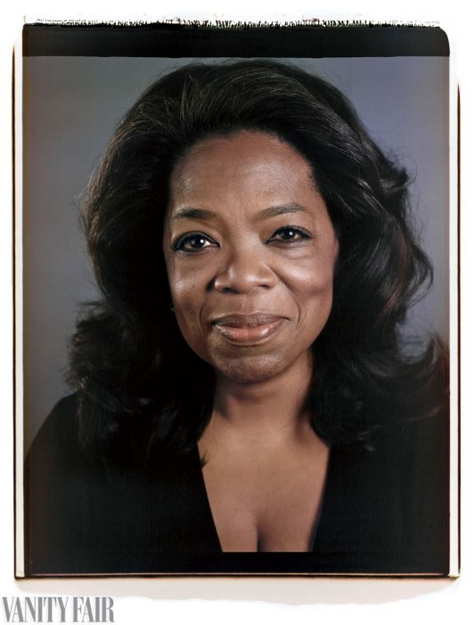 Oprah Winfrey Photo : Chuck Close