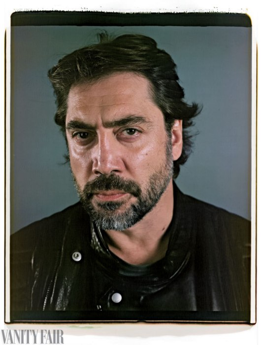Javier Bardem Photo : Chuck Close