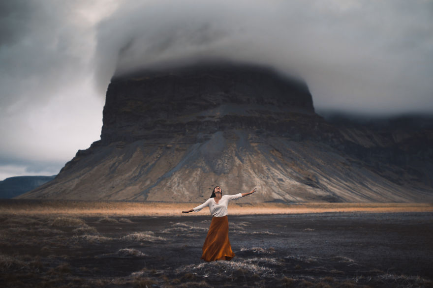 The Whirling Winds - Photo : Elizabeth Gadd