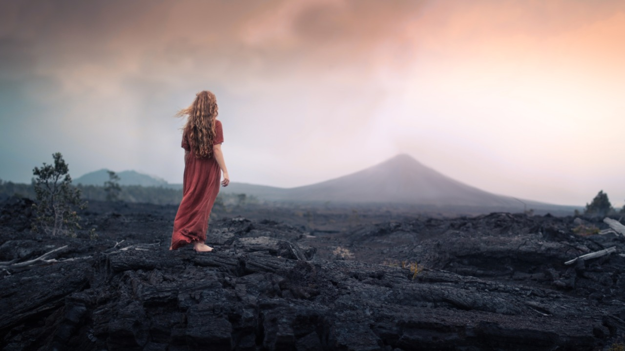 The brave soul - Photo : Elizabeth Gadd
