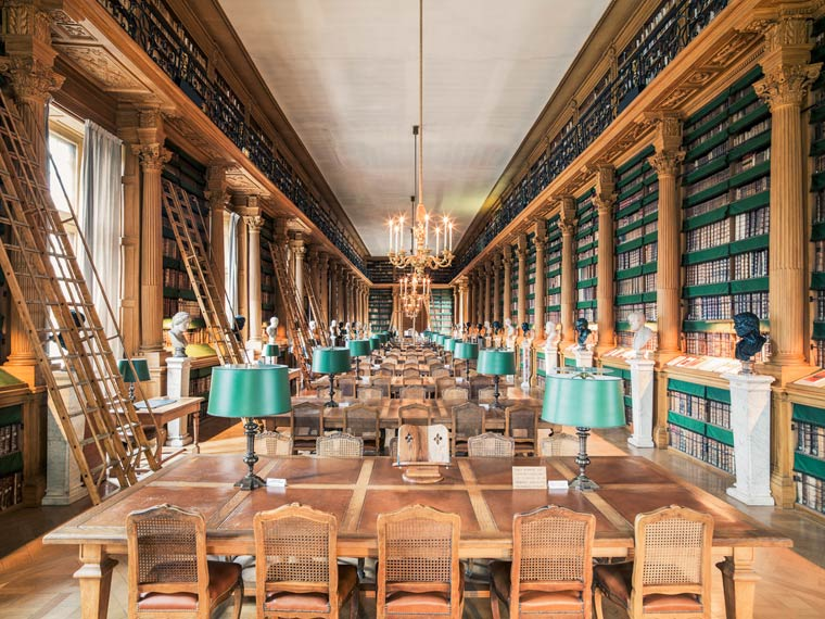 Bibliothèque Mazarine à Paris - Photo : Franck Bohbot