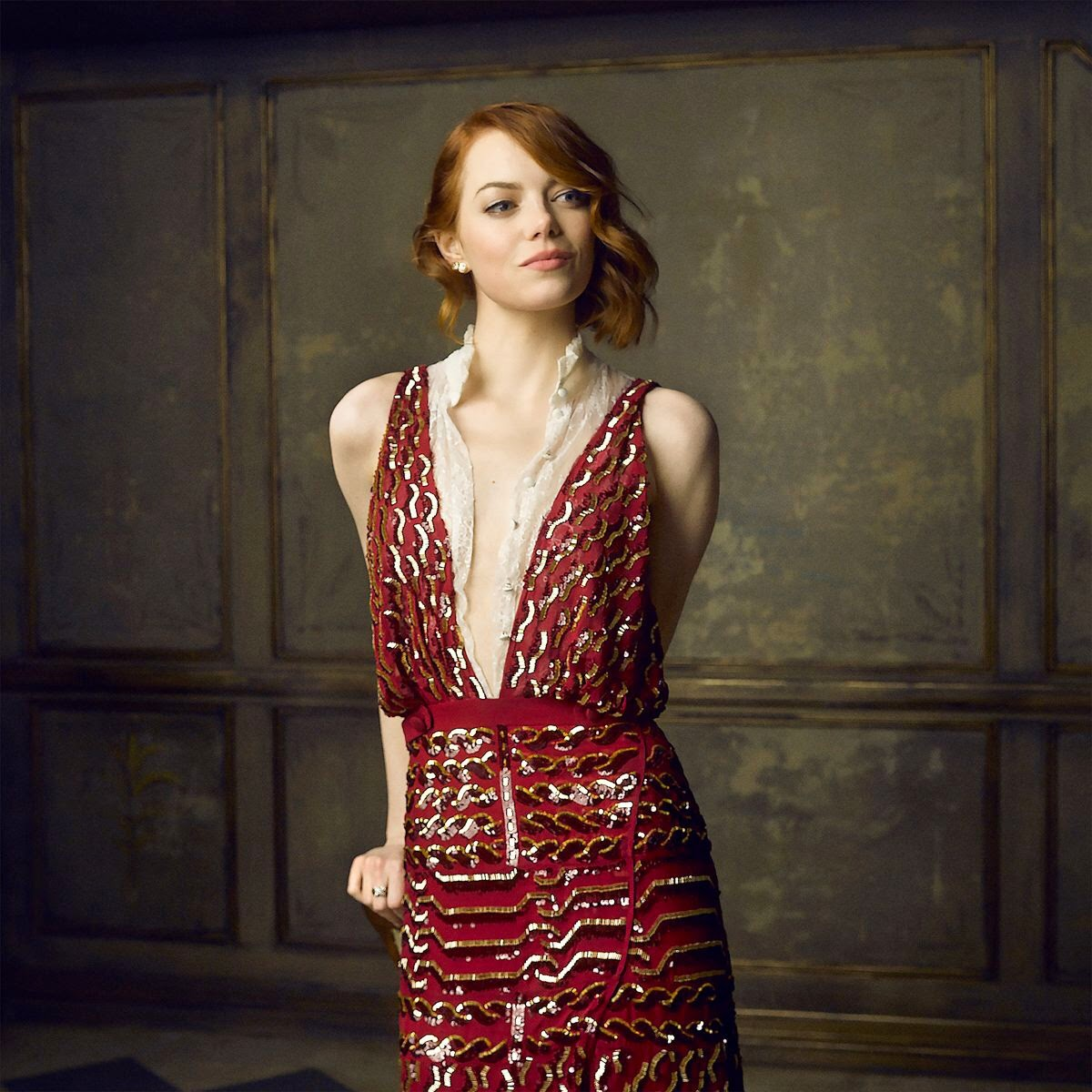 Emma Stone - Photo : Mark Seliger pour Vanity Fair