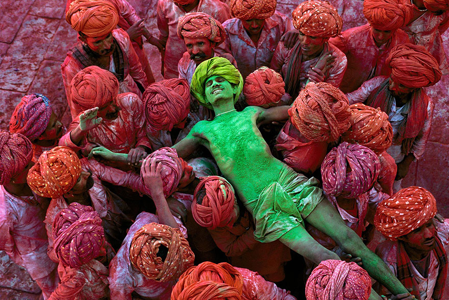 Rajasthan, Inde - Photo : Steve McCurry