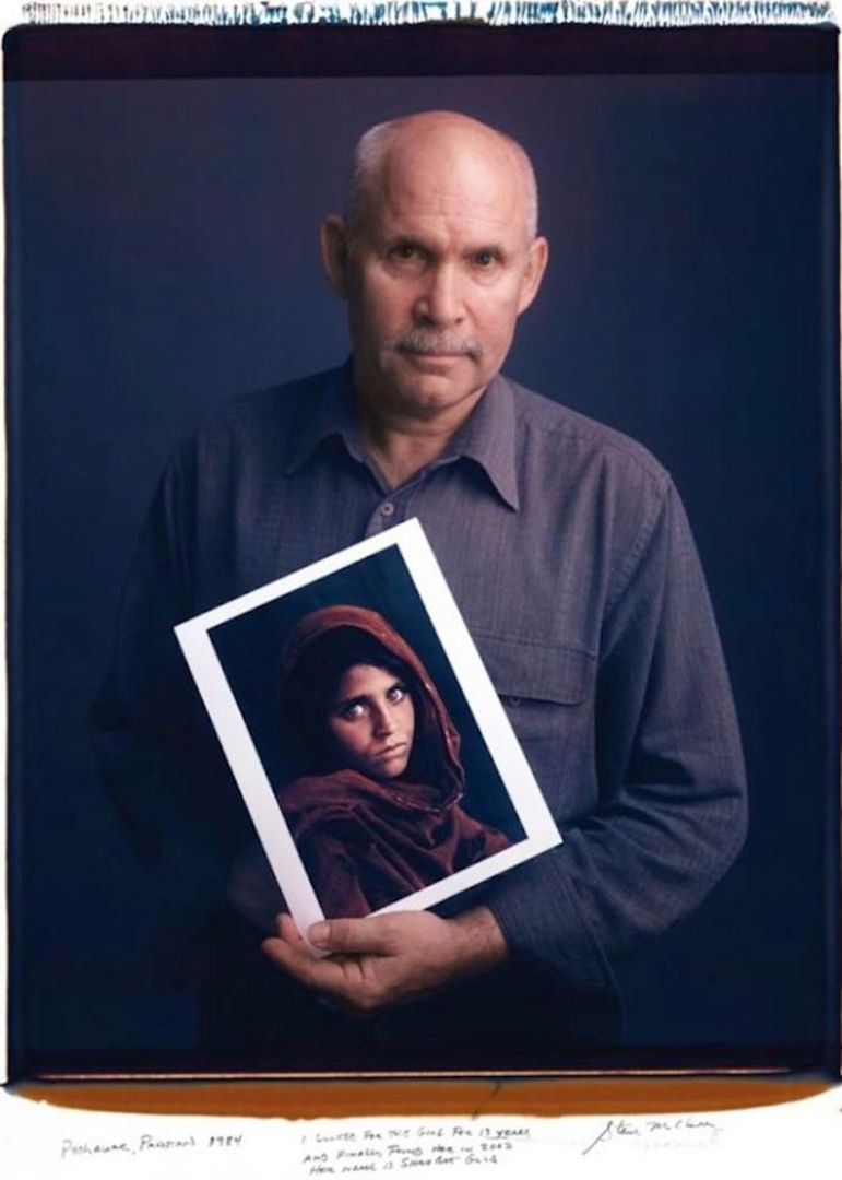 Steve McCurry - Photo : Tim Mantoani