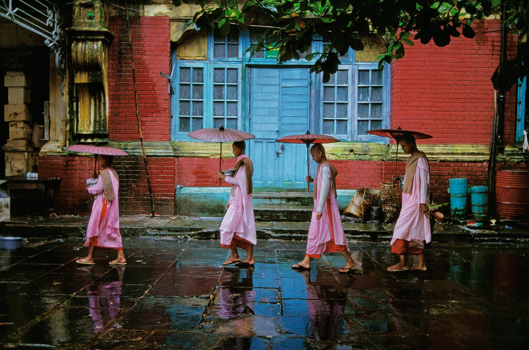 Yangon, Birmanie - Photo : Steve McCurry