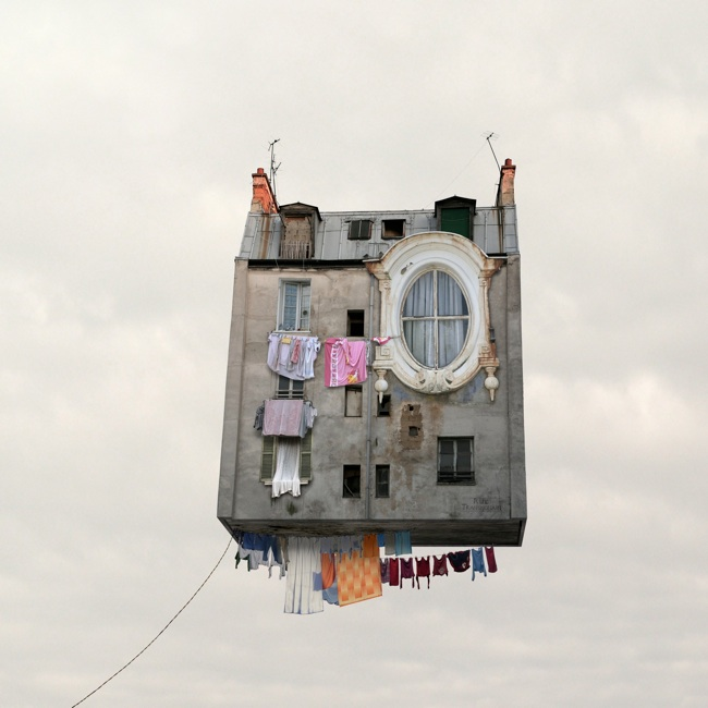 Le linge qui sèche - Photo : Laurent Chéhère