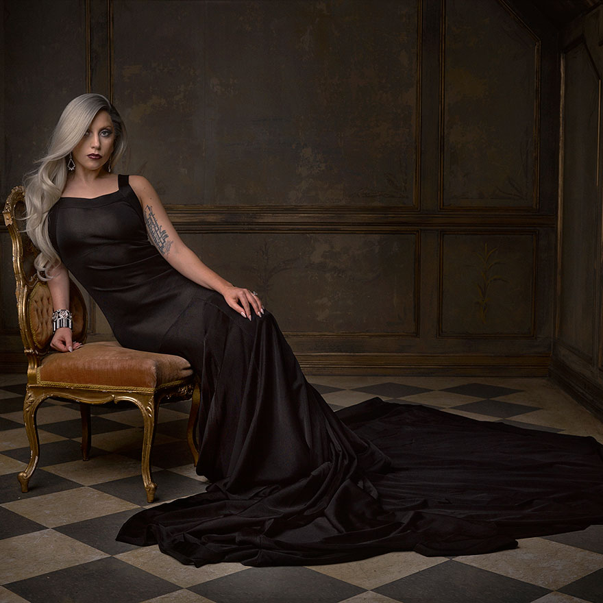 Lady Gaga - Photo : Mark Seliger pour Vanity Fair