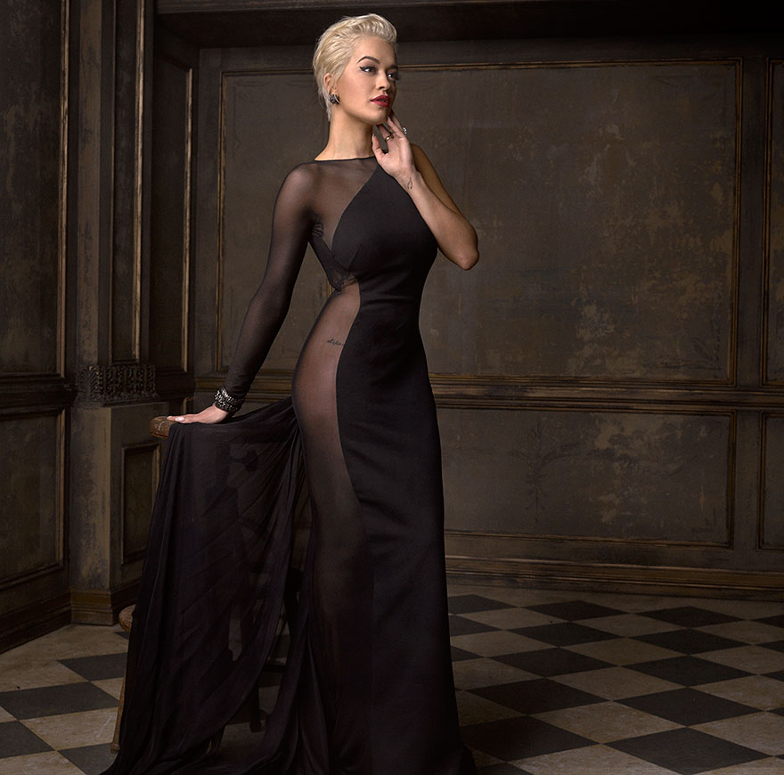 Rita Ora - Photo : Mark Seliger pour Vanity Fair