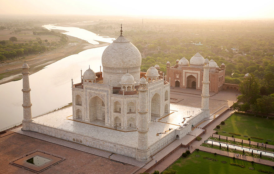 Le Taj Mahal (Inde) Photo : Amos Chapple