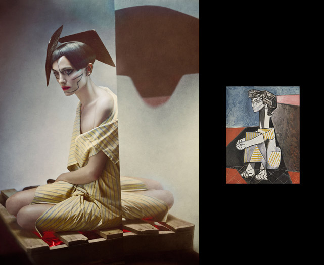Photo : Eugenio Recuenco Tableau : Picasso