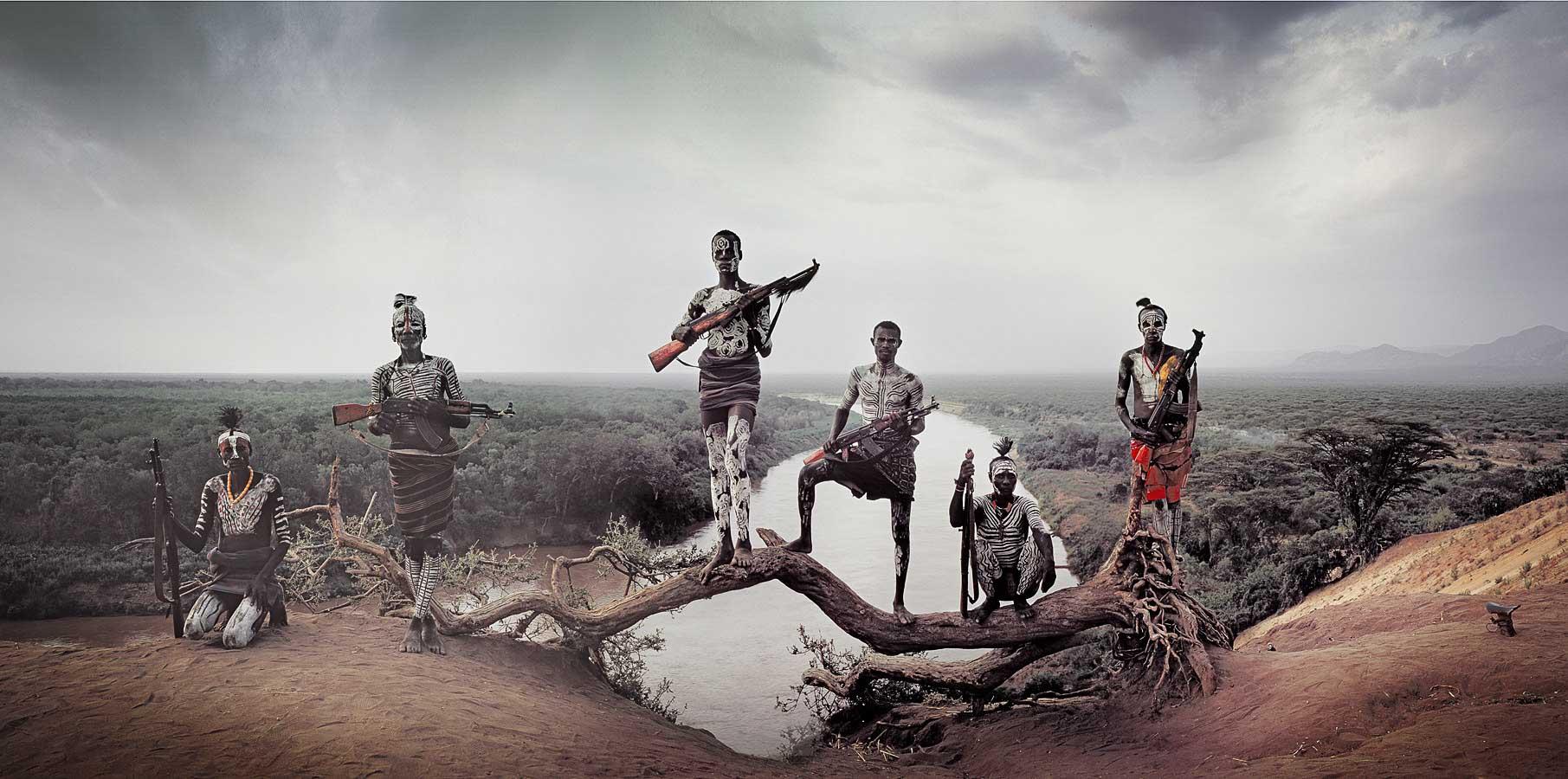 Karo - Ethiopie Photo : Jimmy Nelson