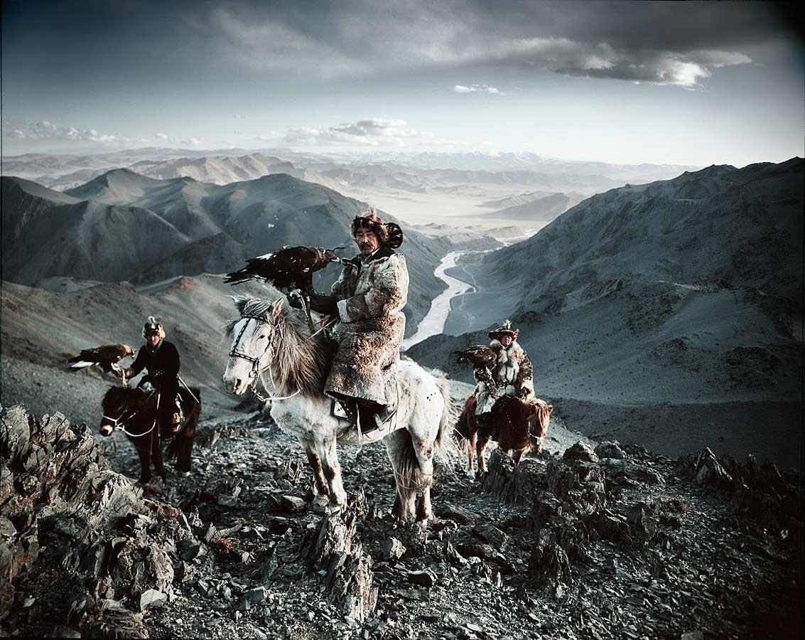Kazakh - Mongolie Photo : Jimmy Nelson