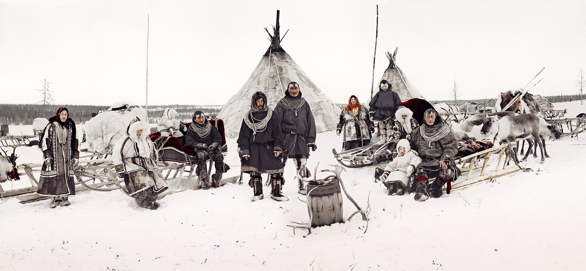 Nenets - Russie Photo : Jimmy Nelson