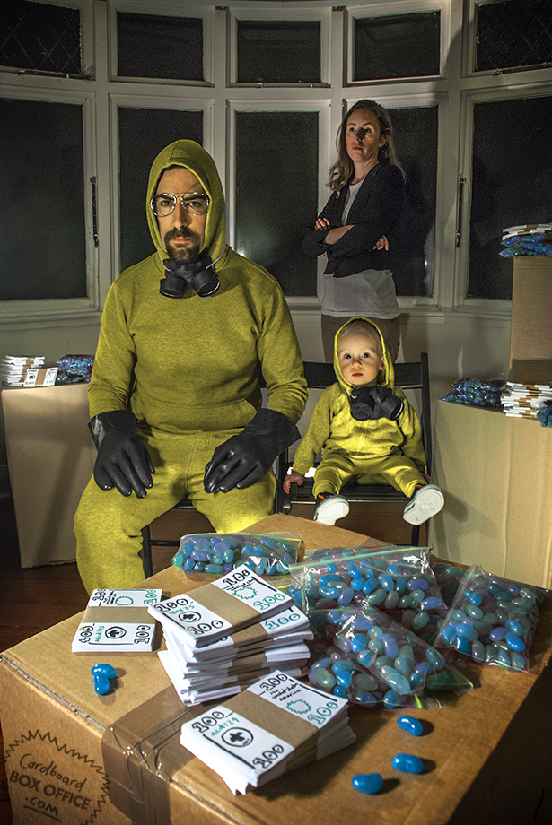 Breaking Dad Série : Breaking Bad Photo : Lilly & Leon Mackie