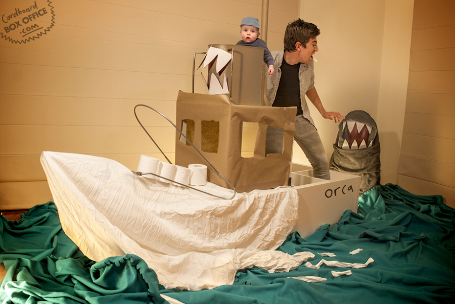 """You're gonna need a bigger baby"" Film : Jaws Photo : Lilly & Leon Mackie"