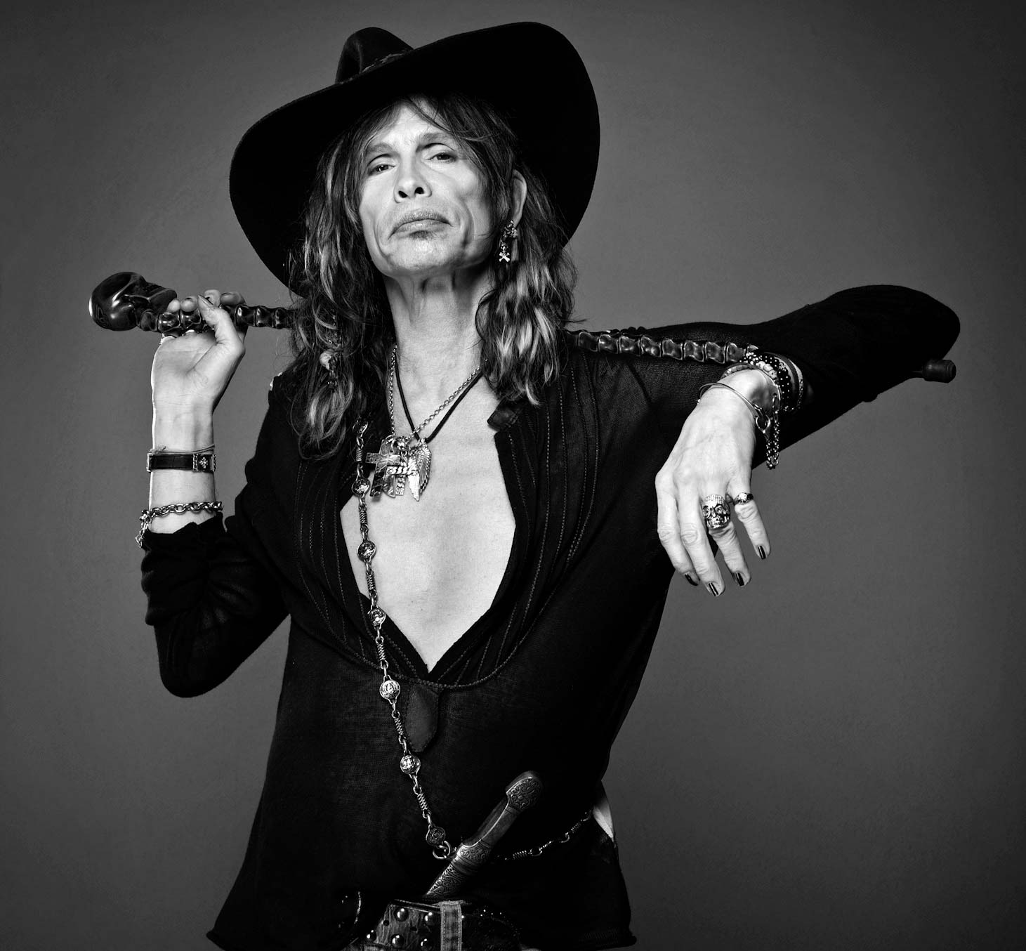 Photo : Ian Spanier Steven Tyler Aerosmith