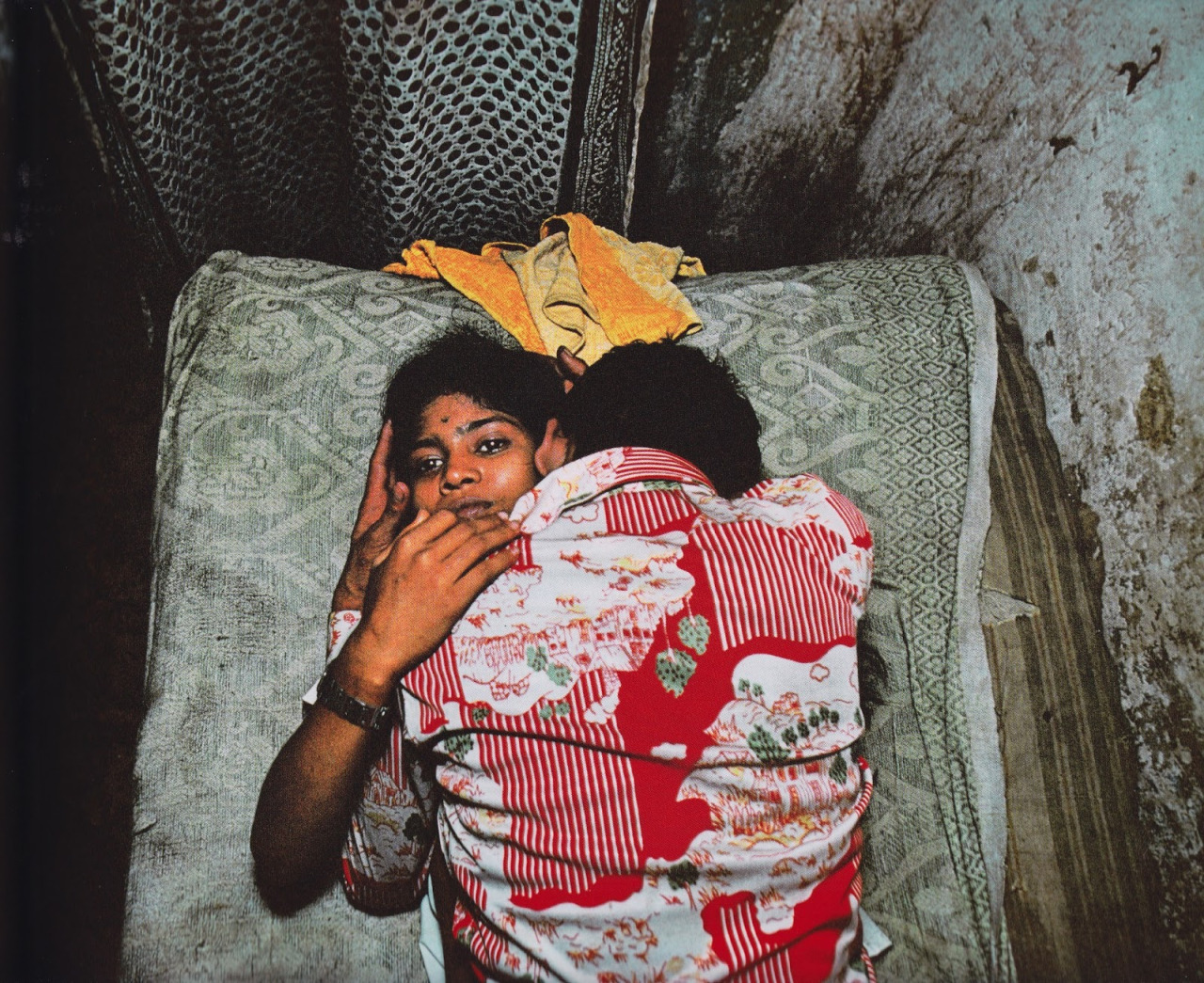 Photo : Mary Ellen Mark - Maison close de Falkland Road à Bombay - 1978