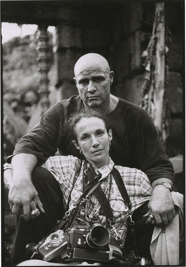 Photo : Mary Ellen Mark et Marlon Brando