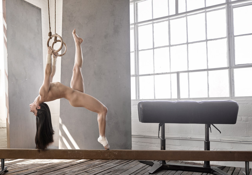Aly Raisman - Gymnaste Olympique - USA Photo : ESPN The Magazine